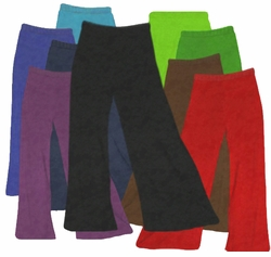 CLEARANCE! Plus Size & Supersize Velvet Wide Leg Palazzo Pants XL 0x 3x