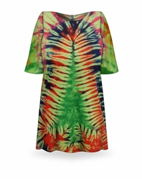 SALE! Christmas Tree Tie Dye Plus Size T-Shirt + Add Rhinestones L XL 2x 3x 4x 5x 6x