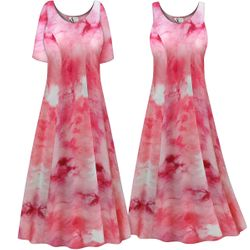 SALE! Customizable Plus Size Cotton Candy Marbled Print Princess Cut Poly/Cotton Jersey Dress 0x 1x 2x 3x 4x 5x 6x 7x 8x 9x
