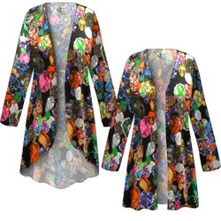 CLEARANCE! Plus Size Million $ Baby Slinky Print Jackets & Dusters 1x 4x