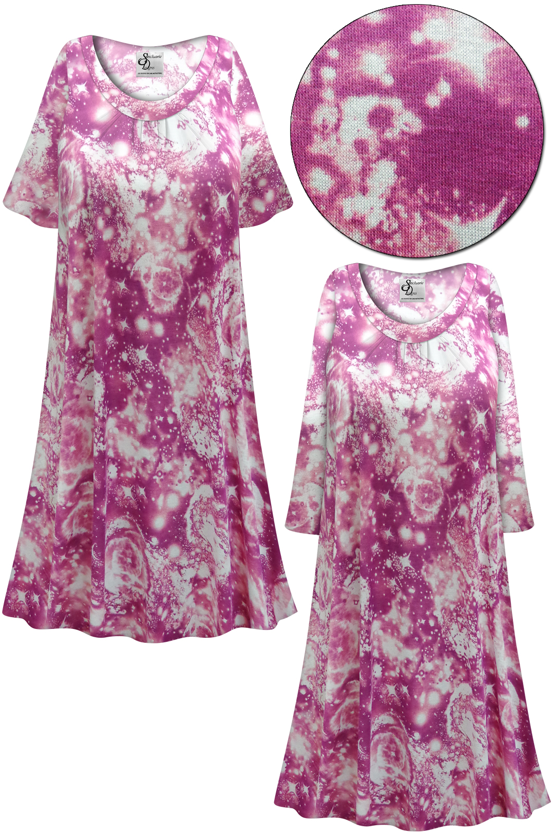 SOLD OUT! SALE! Customizable Plus Size Purple Galaxy Print ...