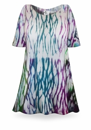 SALE! El Nino Tie Dye Supersize X-Long Plus Size T-Shirt + Add Rhinestones 0x 1x 2x 3x 4x 5x 6x 7x 8x