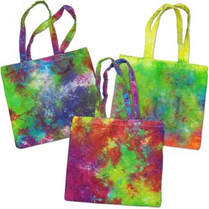 NEW! SALE! Tie Dye Cotton Beach Tote