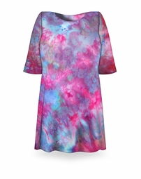 SALE! Fluorescent Ice Tie Dye Plus Size T-Shirt L XL 2x 3x 4x 5x 6x