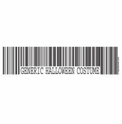 "SALE! Funny ""Generic Costume"" Plus Size & Supersize T-Shirts S M L XL 2x 3x 4x 5x 6x 7x 8x (Lights Only)"