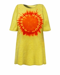 SALE! Hello Sunshine Tie Dye Plus Size T-Shirt L XL 2x 3x 4x 5x 6x