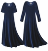 CLEARANCE! Navy Blue Slinky Plus Size & Supersize Dress  Large 0x 4x
