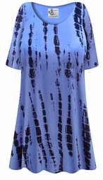 SOLD OUT! Plus Size El Camino Print Extra Long Rayon/Cotton T-Shirts 2x