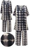 SOLD OUT! Plus Size Moonlight Avenue Print 2 Piece Pajama Pant Set