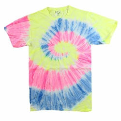 SALE! Plus Size & Supersize Short Sleeve Pastel Swirl Tie Dye T-Shirts XL 2x 3x  4x 5x 6x