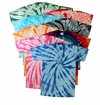 FINAL CLEARANCE SALE! Plus Size Short Sleeve Burst Tie Dye T-Shirts 2XL