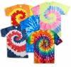 SOLD OUT! Plus Size Short Sleeve Swirl Tie Dye T-Shirts 3XL
