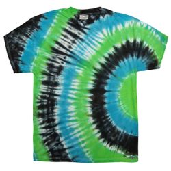 SALE! Plus Size & Supersize Ripple Tie Dye T-Shirts XL 0x 1x 2x 3x 4x 5x 6x 7x 8x