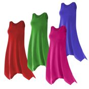 CLEARANCE! Plus Size Solid Color Poly/Cotton Jersey Swimsuit Cover Up Dresses & Shirts 1x 6x 7x