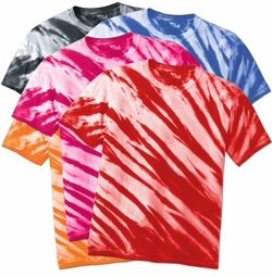 SALE! Short Sleeve Lines Tie Dye Plus Size & Supersize X-Long T-Shirt 0x 1x 2x 3x 4x 5x 6x 7x 8x