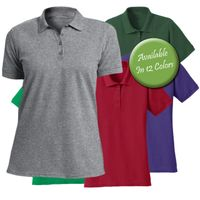 CLEARANCE SALE! Solid Color Short Sleeve Plus Size Polo Shirt  4XL