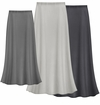 CLEARANCE! Solid Gray Color Slinky Plus Size Supersize Skirt  XL  0x 1x