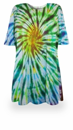 SALE! Spring Meadows Tie Dye Plus Size T-Shirt  L XL 2x 3x 4x 5x 6x