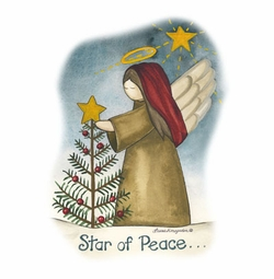 SALE! Star Angel Of Peace Plus Size & Supersize T-Shirts L XL 1x 2x 3x 4x 5x 6x 7x 8x(Lights Only)