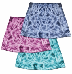 FINAL CLEARANCE SALE! Plus Size & Supersize Tie Dye Skirt & Swimsuit Coverup 0x 3x