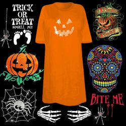 "<font size=""3"" color=""green""><b><center>Fun! Halloween Shirts!  <br></b><font size=""1"" color=""red""></font>"