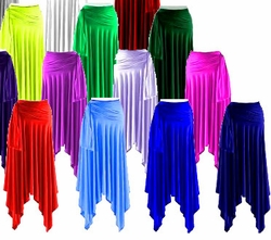 Sexy Slinky Plus Size Handkerchief Skirts - Dresses or Tops! Many Colors! Slinky - Velvet - Cotton! Plus Size & Supersize 1x 2x 3x 4x 5x 6x 7x 8x 9x