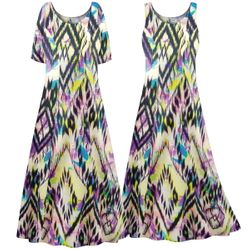 NEW! Customizable Plus Size Abstract Aztec Print Princess Cut SLINKY Dress 0x 1x 2x 3x 4x 5x 6x 7x 8x 9x