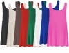 FINAL CLEARANCE SALE! Plus Size Round Neck Sleeveless Swim Tank Tops Many Colors! 0x 1x 2x
