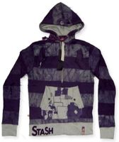 SOLD OUT!!!!  Fun Purple TieDye Stash House Zip Up Plus Size Hoodie Jackets SOLD OUT!!