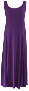 SOLD OUT! Purple Plus Size & Supersize Princess Cut Tank Dresses 2x