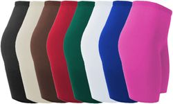 SALE! Plus Size Spandex Swim Shorts Lg XL 1x 2x 3x 4x 5x 6x 7x 8x 9x Supersize Many Colors!