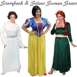 Storybook & Silver Screen Stars! Plus Size Costumes