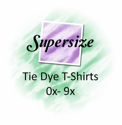 Supersize Tie Dye Tops & Tees 0x to 9x