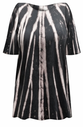 SALE! Woodlands Tie Dye Plus Size T-Shirt L XL 2x 3x 4x 5x 6x