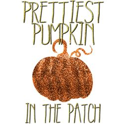 SALE! Prettiest Pumpkin In The Patch Plus Size & Supersize T-Shirts S M L XL 2x 3x 4x 5x 6x 7x 8x 9x (Light/Dark Colors)