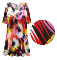 SALE! Plus Size Marvelous Slinky Print Short or Long Sleeve Shirts - Tunics - Tank Tops 0x