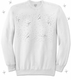SALE! Plus Size White Long Sleeve Sweatshirt 2x 3x 4x