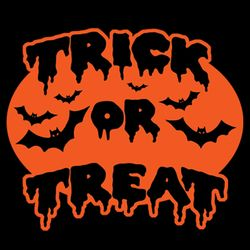 SALE! Trick Or Treat Bats Plus Size & Supersize T-Shirts S M L XL 2x 3x 4x 5x 6x 7x 8x 9x (All Colors)