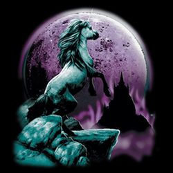 SALE! Unicorn And Full Moon Plus Size & Supersize T-Shirts S M L XL 2xl 3xl 4x 5x 6x 7x 8x
