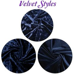 Available Velvet Styles