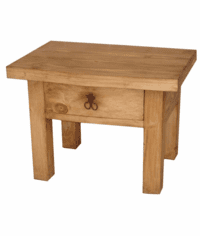 Alamo Rustic End table