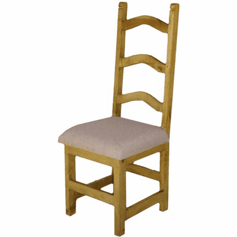 Alta Pine Wood Curved Chair