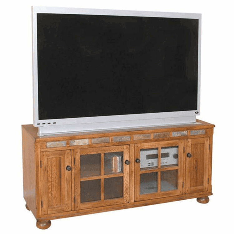 "Arizona Rustic 62"" TV Stand Oak"
