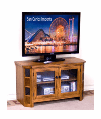 "Arizona Rustic Oak 42"" TV Console"