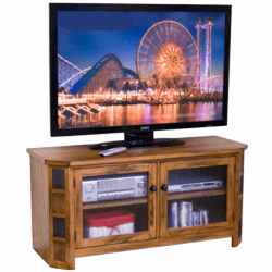 "Arizona Rustic Oak 52"" TV Console"