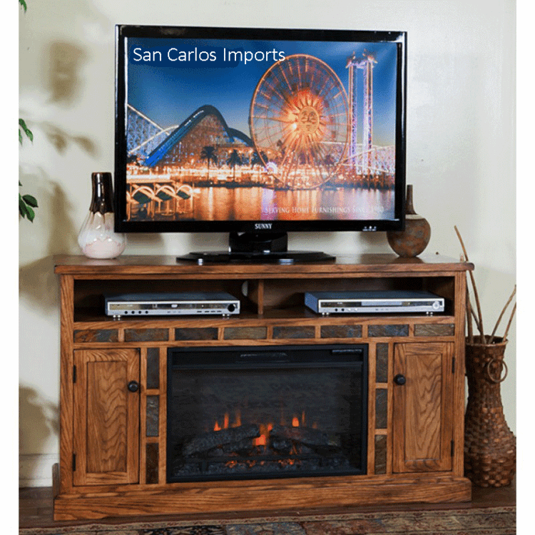 Outstanding Rustic Oak Tv Stand Fireplace Tv Stand Fireplace Download Free Architecture Designs Estepponolmadebymaigaardcom
