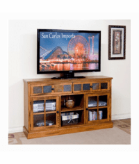 "Arizona Rustic Oak 60"" TV Stand"