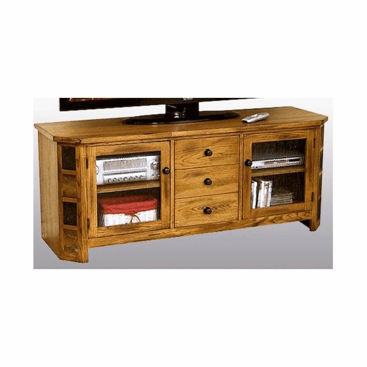 "Arizona Rustic Oak 62"" TV Console"