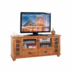 "Arizona Rustic Oak 72"" TV Stand"