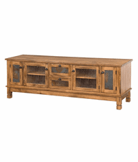 "Arizona Rustic Oak 78"" TV Stand"